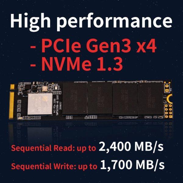NVME PCIE x4 M 2 SSD m2 128GB 256GB 512GB 1TB 2